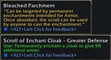 Inscription to allow enchanters to sell on the AH