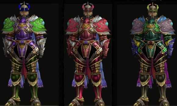 Lost Pages of Taborea: Armor customizing and coloring