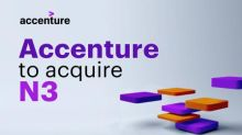 Accenture to Acquire N3 to Help Clients Drive Sales Growth in a Virtual Environment