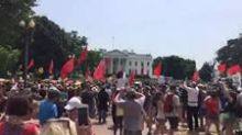 Demonstrators Surround White House at People's Climate March