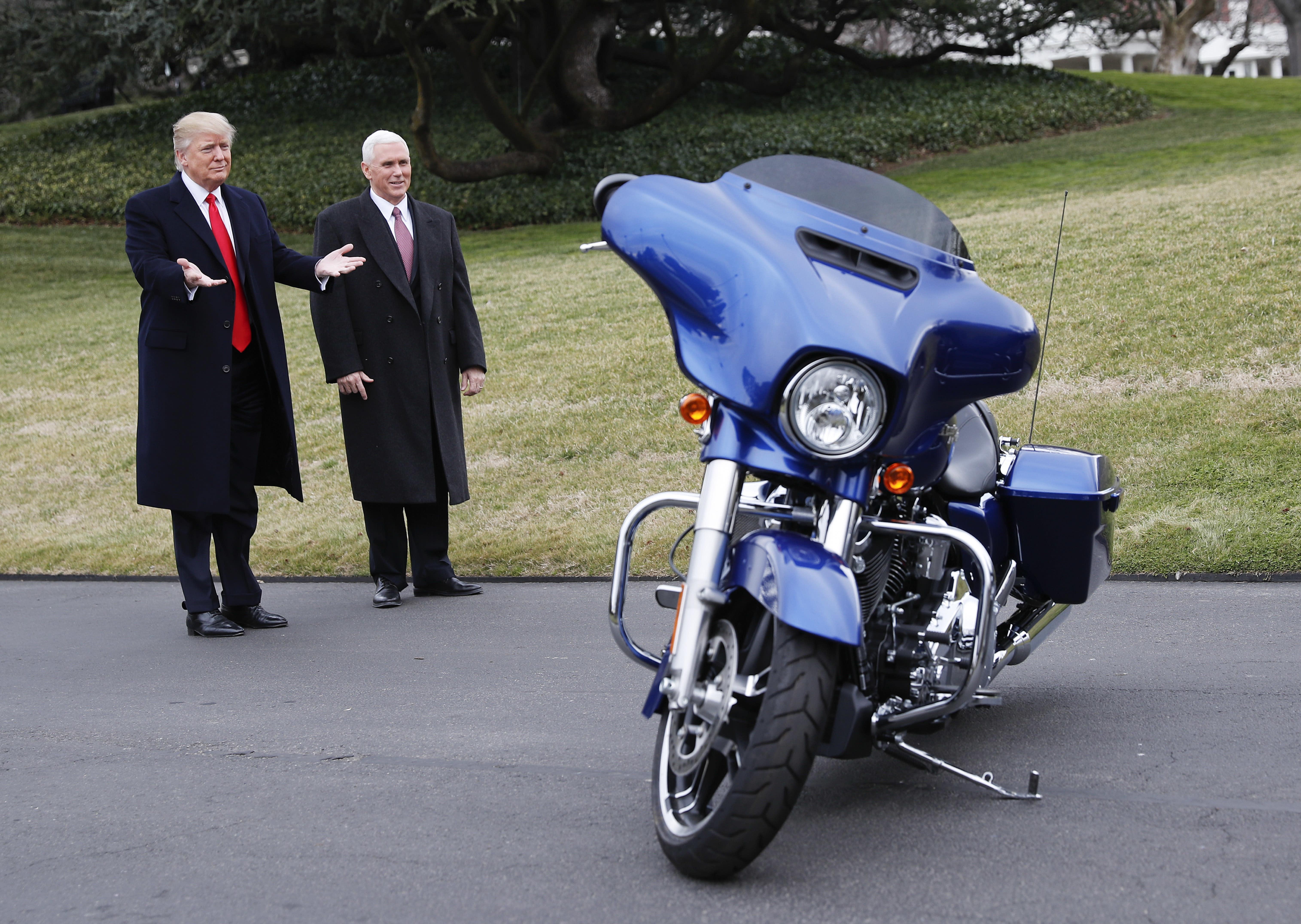 Harley Davidson Us Sales Tank Amid Trump Tariffs