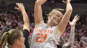 Hoff and Hurricanes storm Louisville