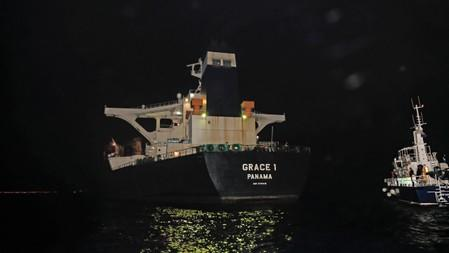 Seized supertanker was full to capacity with crude - Gibraltar