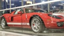 This six-mile 2005 Ford GT is a car collector's dream