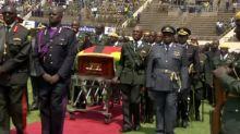 Zimbabue y líderes africanos despiden al expresidente Robert Mugabe