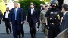 Why military men pushing back on Trump is an 'extraordinary' event in American democracy
