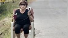 Una donna del Montana ha convinto le auto a rallentare, con un phon