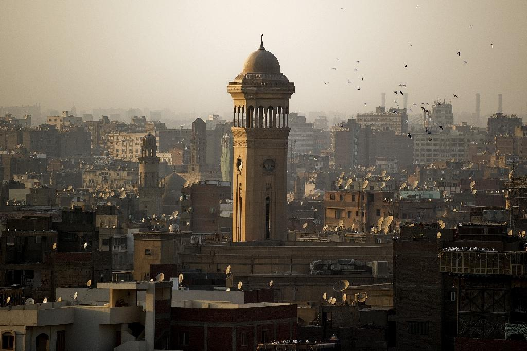 High-decible city Cairo, whose skyline is seen in 2013, ranked among the cities where hearing was most degraded (AFP Photo/GIANLUIGI GUERCIA)