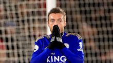 Leicester boss Brendan Rodgers not worried by Jamie Vardy's goal drought