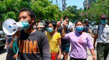 19 Menschen in Myanmar zum Tode verurteilt - Neue Proteste