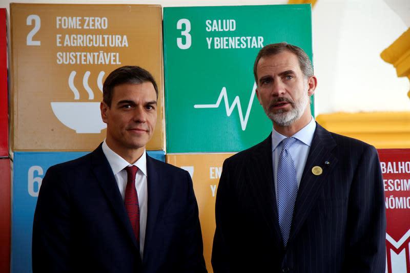 """Felipe VI defiende la """"globalización inclusiva"""" ante empresarios en el marco de la Cumbre Iberoamericana"""
