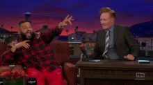 DJ Khaled helps Conan create a new intro for his show