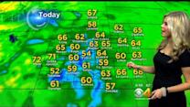 Tuesday's Forecast: Drying Out & Warming Up