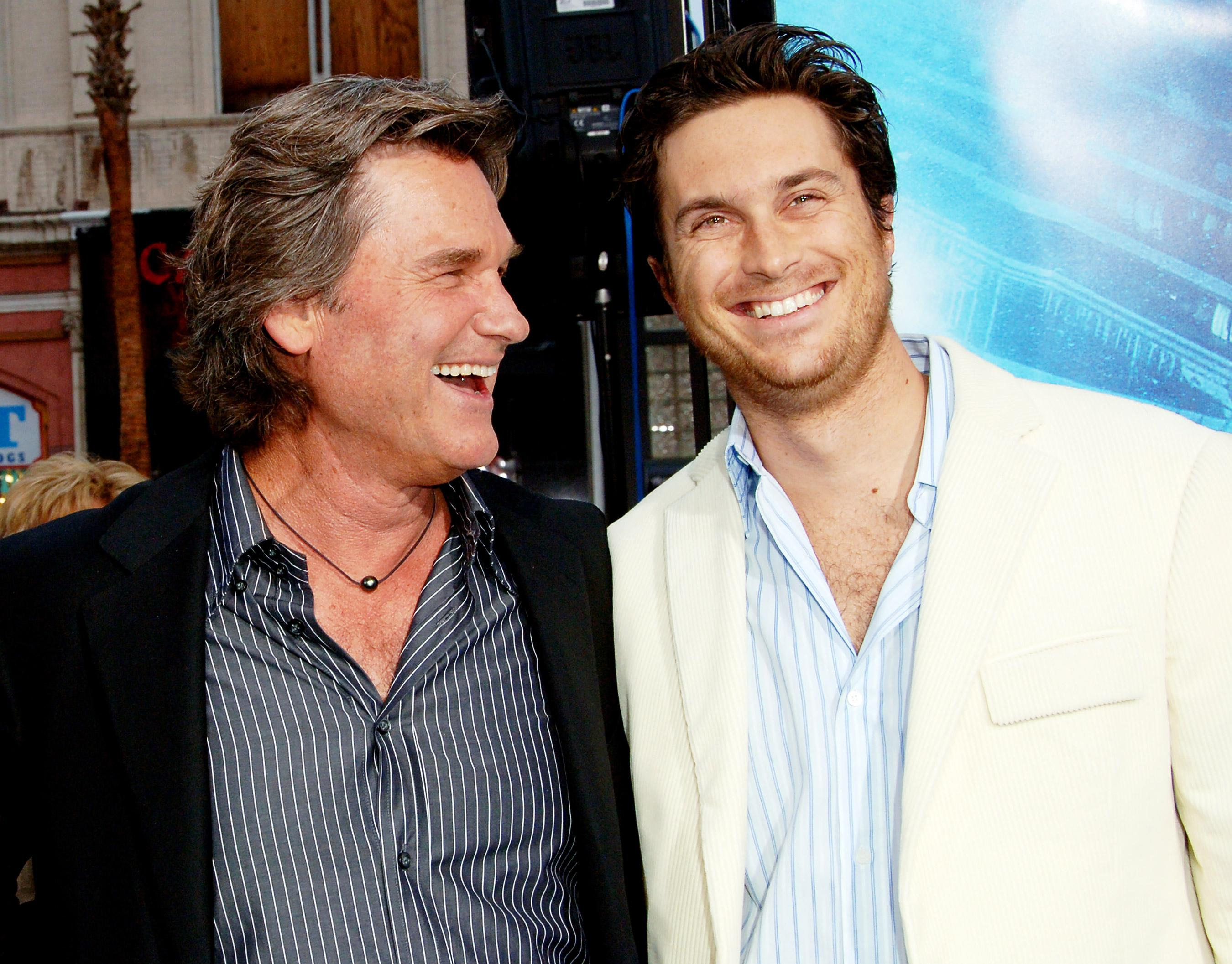 Oliver Hudson On The Craziest Punishment Kurt Russell Ever Gave