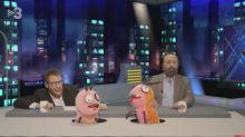 Polònia parodia la entrevista de Pablo Motos a Santiago Abascal con el político a punta de pistola con las hormigas