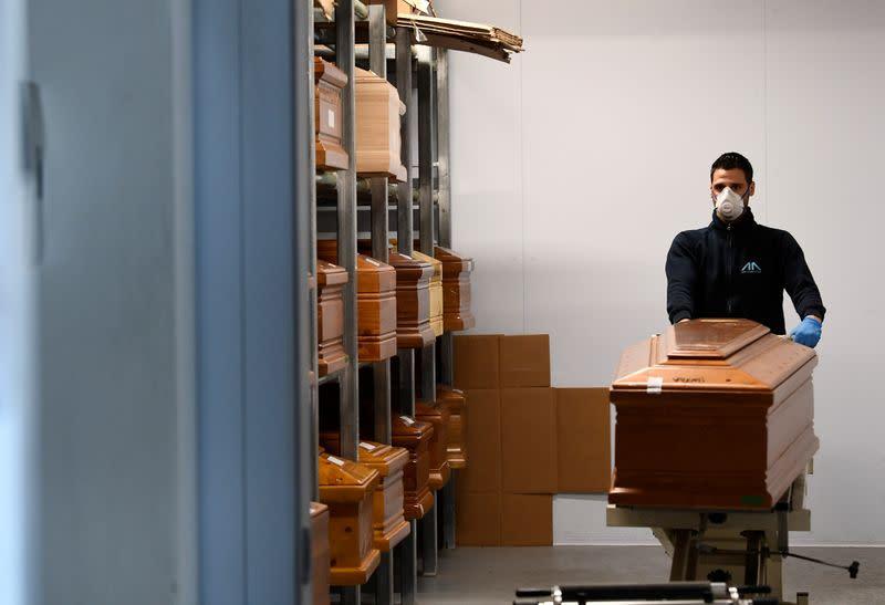 Italy Reports 63,927 Coronavirus Cases, Death Toll At 6,077