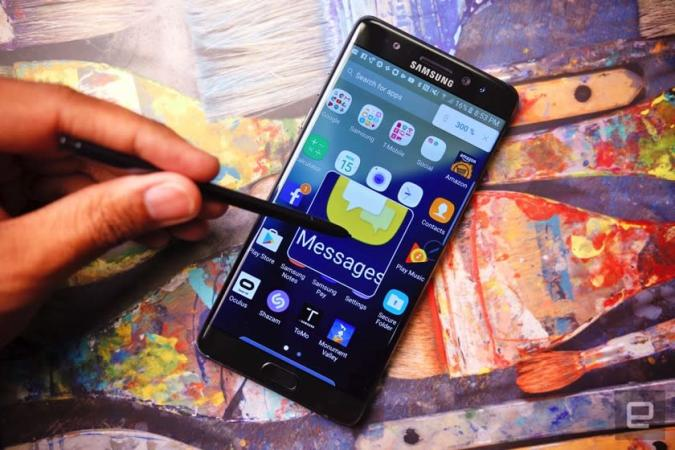 Samsung Galaxy Note 7 bekommt Software-Update