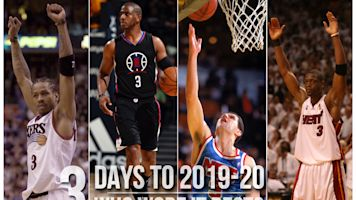 Countdown: Who was best No. 3 in NBA history?
