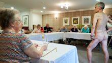 Old people's home invites nude model for life drawing class