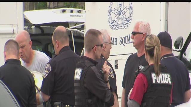 Speedway police investigate suspicious activity at Coke Lot