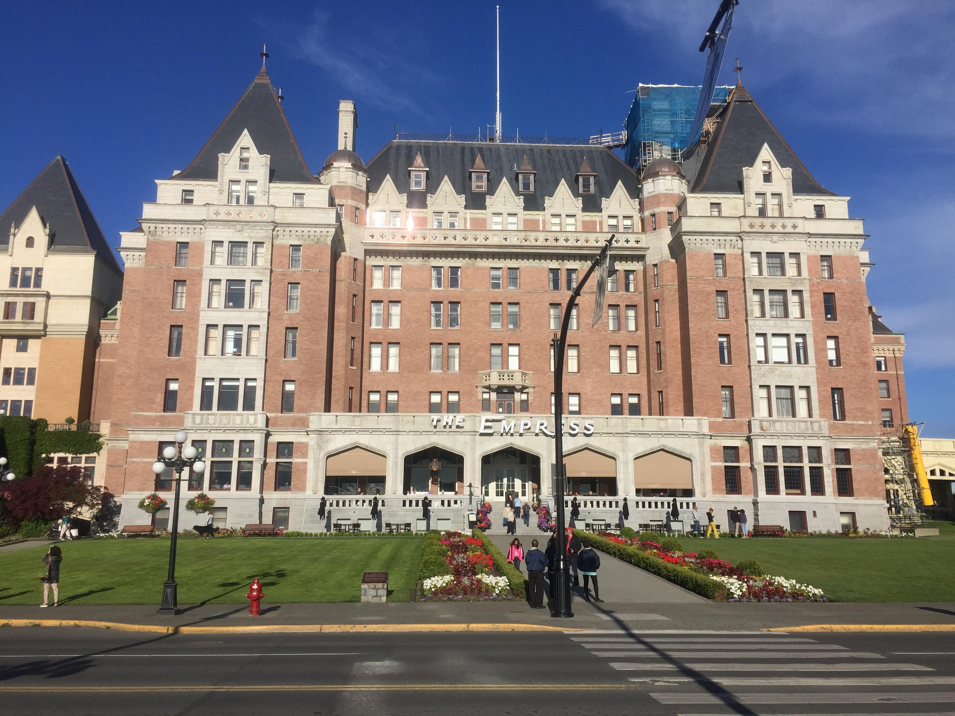 Fairmont Empress Hotel in Victoria Finishes First Phase of Renovations