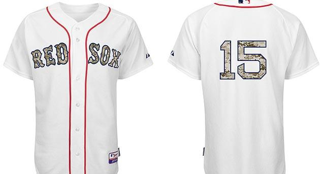 ... Report All of MLB to wear camouflage-themed uniforms Memoria Mens  Boston Red Sox Majestic Gray 2017 Memorial Day ... 3c1e251c5a2