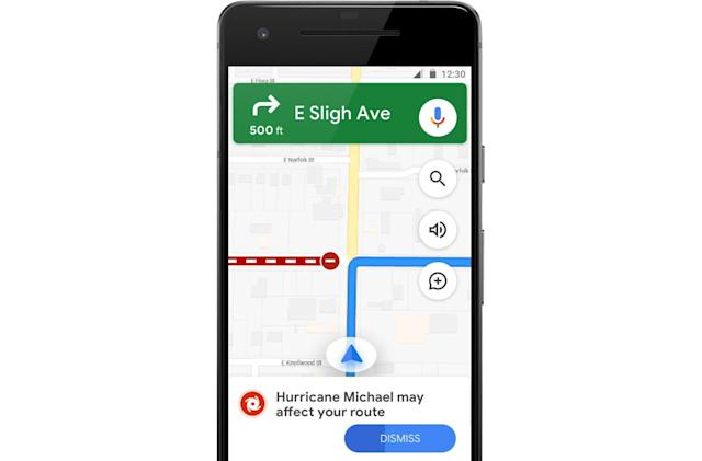 Google Maps will navigate you away from crises