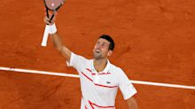 French Open 2020: Djokovic sounds title warning, Tsitsipas scrapes through opener