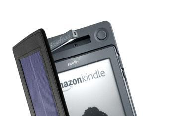 SolarKindle cover basks in the sun's rays, charges for days and days