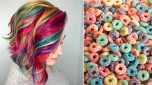 Cereal Hair Is the Latest Nostalgic Hair Color Trend Taking Over Instagram