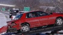 Drivers Met By Slick Highways Friday Morning