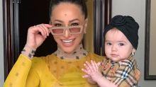 Sabrina Sato festeja 10 meses de Zoe, que usa look de quase R$ 3 mil em Paris