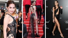 Most jaw-dropping red carpet looks from Cannes