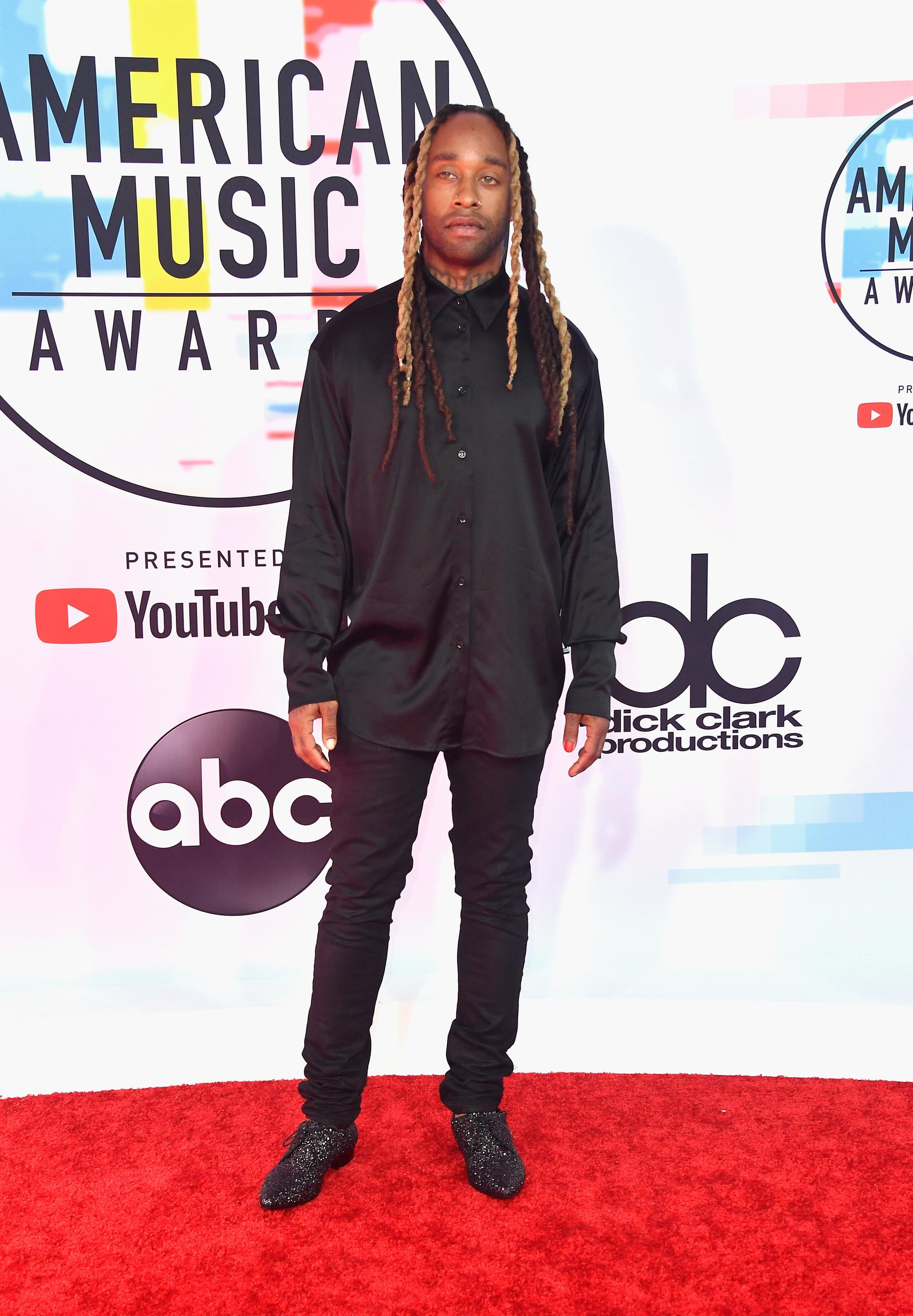 LOS ANGELES, CA - OCTOBER 09:  Ty Dolla Sign attends the 2018 American Music Awards at Microsoft Theater on October 9, 2018 in Los Angeles, California.  (Photo by Frazer Harrison/Getty Images)