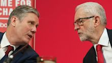Keir Starmer told to show 'backbone' as Labour leaves open the door to Jeremy Corbyn's return