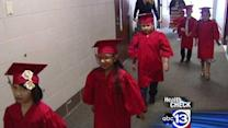 Children graduate from deaf program