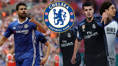How Chelsea will attack with Alvaro Morata instead of Diego Costa up front