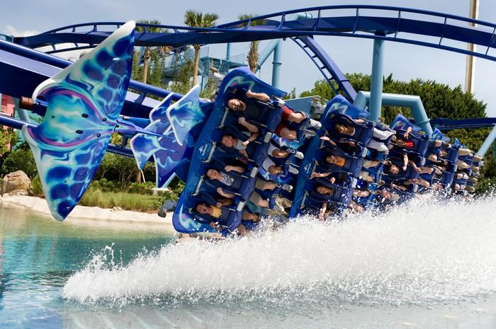 SeaWorld Turns to Thrill Rides to Keep the Good Times Rolling