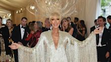 Celine Dion, 51, flaunts long legs in flashy gown at the Met Gala 2019