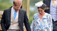 Meghan Markle pairs pricey designer gown with affordable $49 USD fascinator