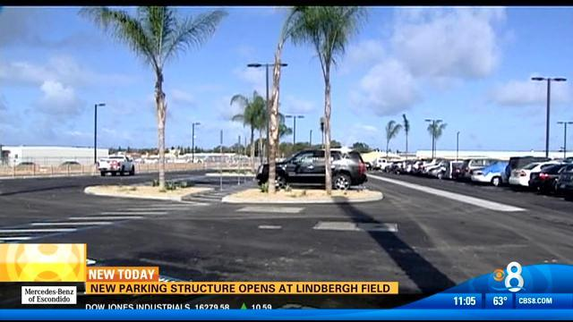 New parking structure opens at Lindbergh Field