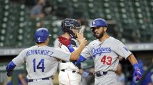 All quiet till Ríos HR in 13th lifts Dodgers over Astros 4-2