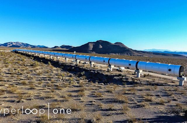 Hyperloop One offers a proper glimpse at its Nevada test site