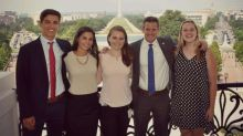Capitol Hill lawmakers celebrate National Intern Day