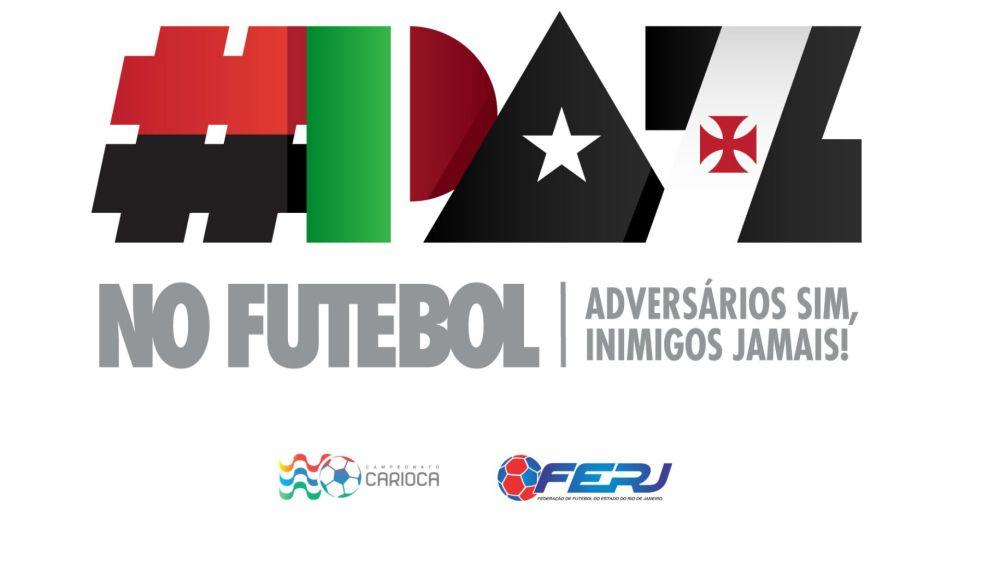 Antes dos clássicos na Taça Rio, FERJ lança campanha de paz no futebol