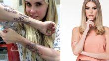 Deu ruim! Anitta, Angelina Jolie, Vivi Araújo e mais famosas que removeram tatuagens