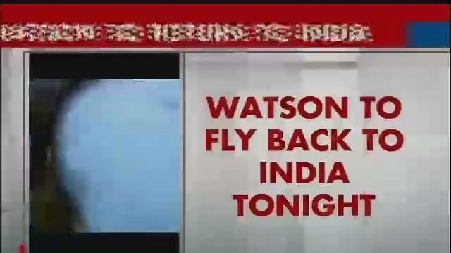 Watson heads back to India for fourth Test