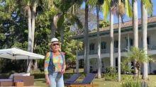 Ana Maria abre as portas de sua fazenda luxuosa com mansão e capela