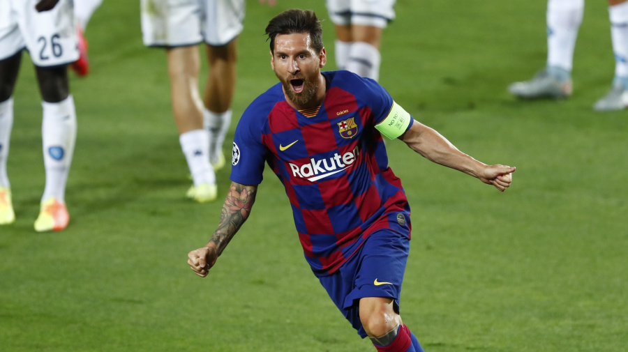 As always, Messi makes the difference for Barca