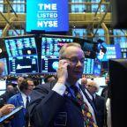 Global growth worry hits stocks, but U.S. data lifts dollar